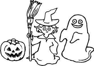 Malvorlagen Halloween Ausmalbilder und Bastelvorlagen zu